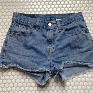 Levi's | Cut off Denim shorts 7 Junior